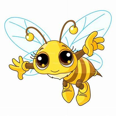 Clipart Bee Flying Bumblebee Insect Clipartion
