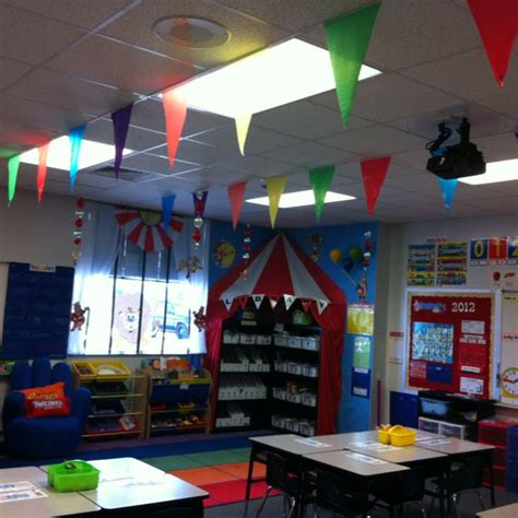 circus theme  classroomdone school pinterest