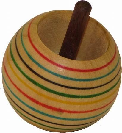 Tippy Toy Wood Tops Flip Poplar Lathe