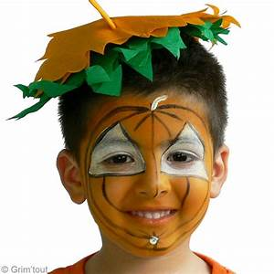 Tete De Citrouille Pour Halloween : maquillage citrouille halloween id es conseils et tuto maquillage ~ Melissatoandfro.com Idées de Décoration
