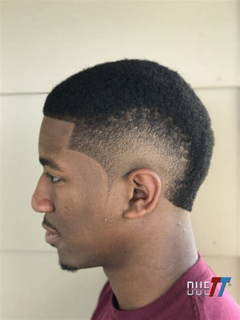 burst fade mohawk  south  france haircut