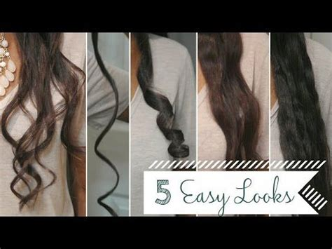 easy curlswaves   flat iron  review youtube