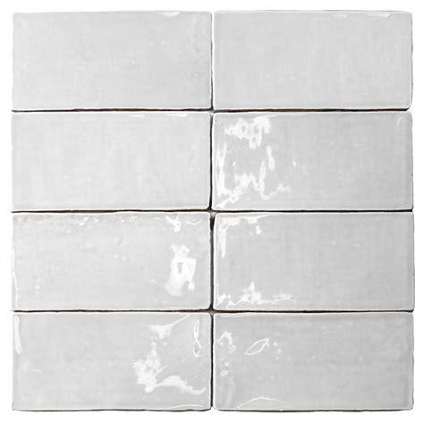 Splashback Tile Catalina White 3 In X 6 In X 8 Mm