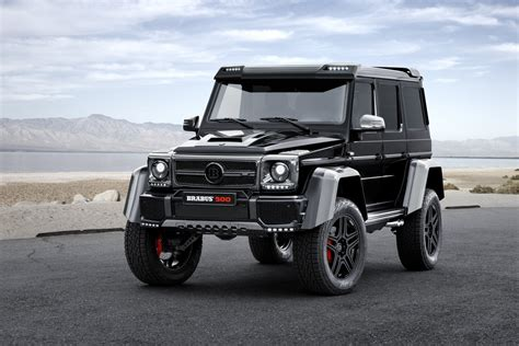 The Mercedes-benz G500 4x4 To The Power Of Two Is Taken To