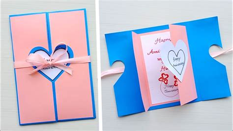 Beautiful Handmade Anniversary Card Idea / DIY Greeting