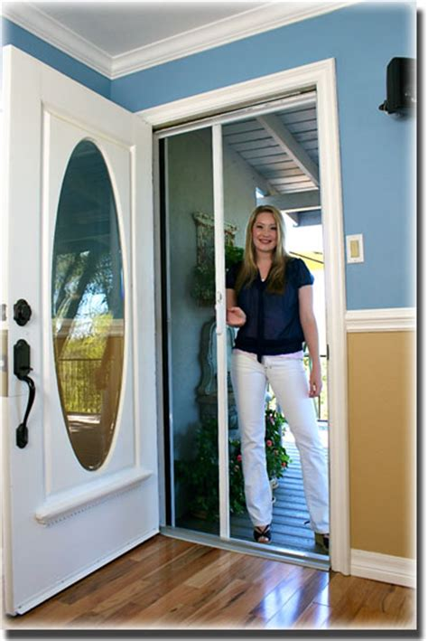 security screen doors security retractable replacement