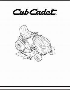 Cub Cadet Lawn Mower Ltx1050  Kw User Guide