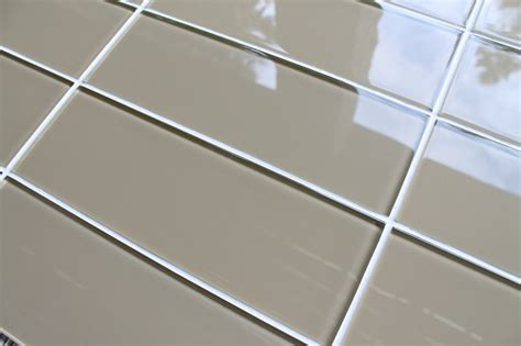 4x12 White Glass Subway Tile by 3 Quot X 6 Quot Sle Brown 4 Quot X 12 Quot Glass Subway Tiles