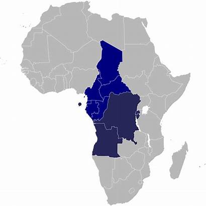 Africa Central Cemac Svg Un African States