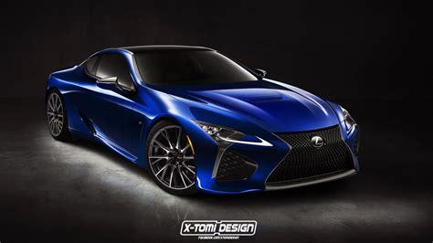 Lexus Lc F Design Study Looks Menacing