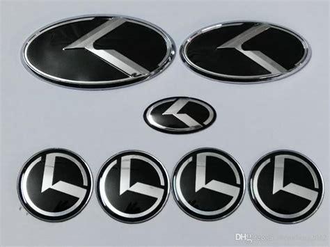 New Car Emblem by 2017 New Black K Logo Badge Emblem For Kia Optima K5 Car