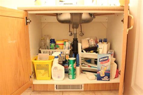 the kitchen sink organization bathroom cabinet organization 8714