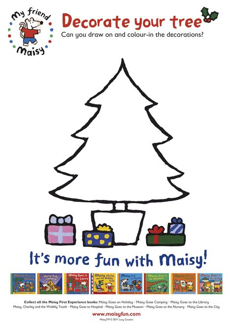 decorate a christmas tree with maisy scholastic kids club
