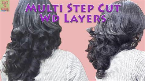 steps to style hair haircut multi steps with layers यद आपक haircut क 8879