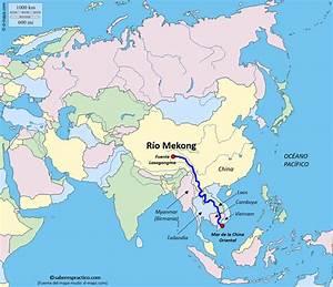 ¿Dónde está el río Mekong? Saber es práctico