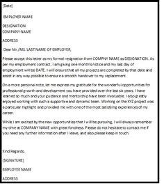 sle resignation letter with reason effective immediately resignation letter sle pdf letter sle 24691
