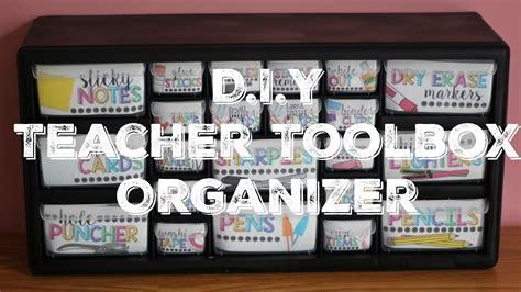 desk with drawer diy toolbox organizer