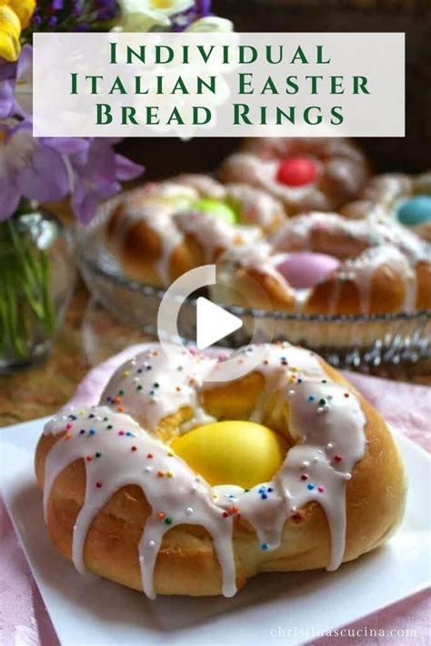 Whether you have gluten allergy or you just do not consume flour, these 4 gluten free dessert recipes are defiantly worth a try. Traditional Italian Easter Bread Rings in 2020 | Dessert ...