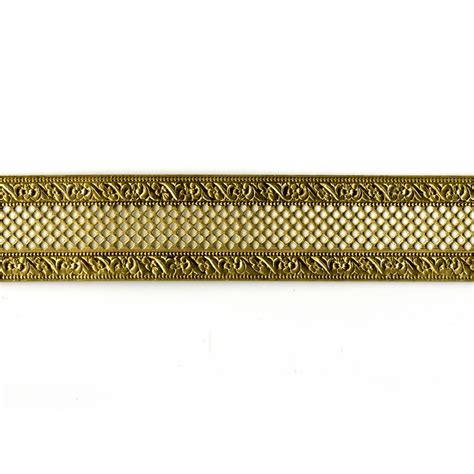 Decorative Metal Banding Australia by Bordered Net Brass Banding Bezel Jewelry Decorative