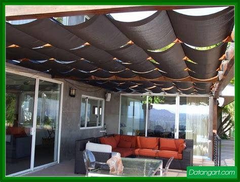 patio shade cloth design idea home landscaping