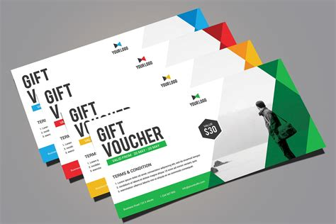 gift coupon samples  psd ai eps vector