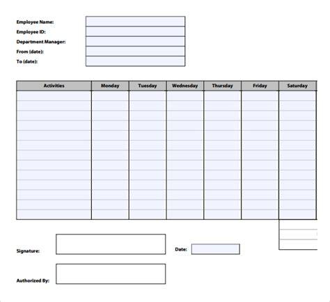 time tracking template 12 time tracking templates free sle exle format free premium templates