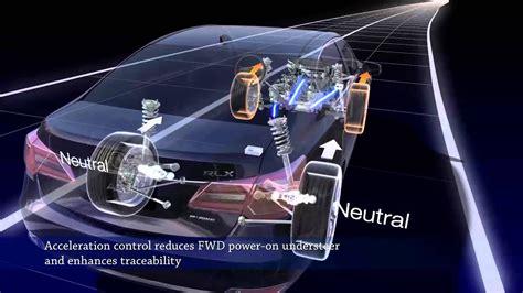 acura rlx precision  wheel steer demonstration