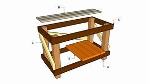 Zekaria: Building shed workbench