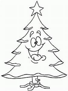 Albero di Natale da colorare e stampare, disegni per bambini Buon Natale