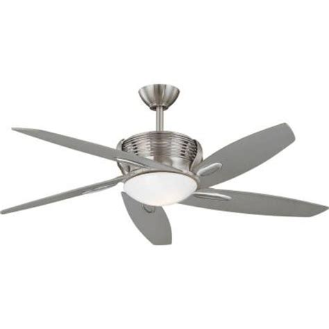 Home Depot Ceiling Fans Brushed Nickel by Hton Bay Arctic Sky 54 In Brushed Nickel Ceiling Fan