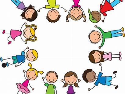 Circle Drawing Clipart Children Child Transparent Celebrating