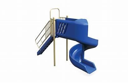 Slide Spiral Piece Playground Guide 3d Slides