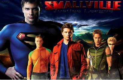 Smallville Justice League Season Tv Wallpapers Posters