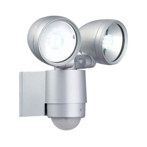 modern wall mounted exterior spotlight with pir operation