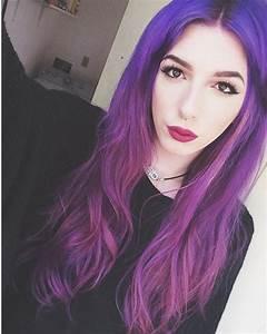 Black To Purple Ombre Hair Color Archives Vpfashion