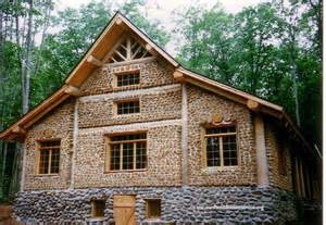 Wood And Homes by Cordwood Million Dollar Mansion Cordwood Construction