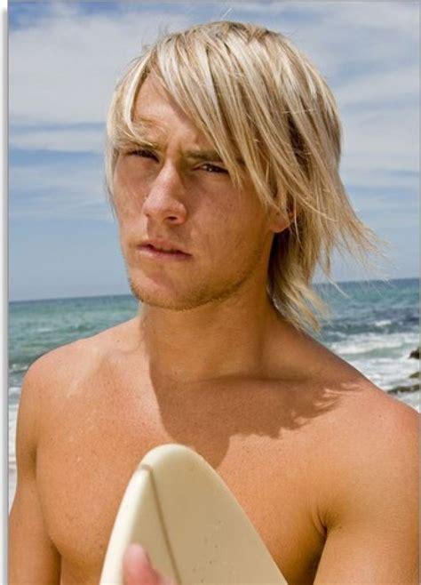 blonde surfer hair style inspiration  men surfer hair hair inspiration