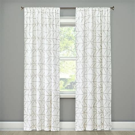 Target Drapery Panels by Sketched Triangle Curtain Panel Project 62 Target