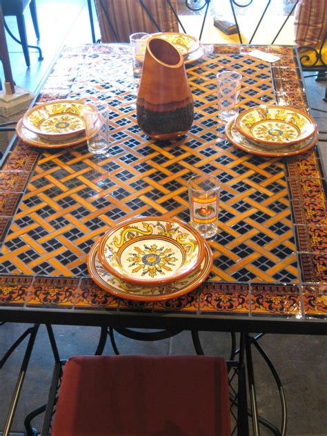 mosaic outdoor dining table furthur wholesale mosaic dining tables mosaic