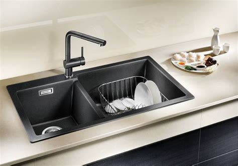Kitchen Sink Material Singapore by Blanco Pleon 9 Blanco