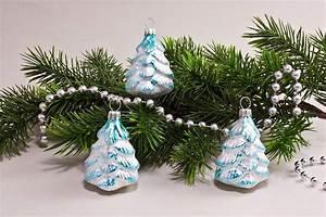 Weihnachtskugeln Aus Lauscha : 3 b umchen eiswei t rkis christbaumkugeln ~ Orissabook.com Haus und Dekorationen