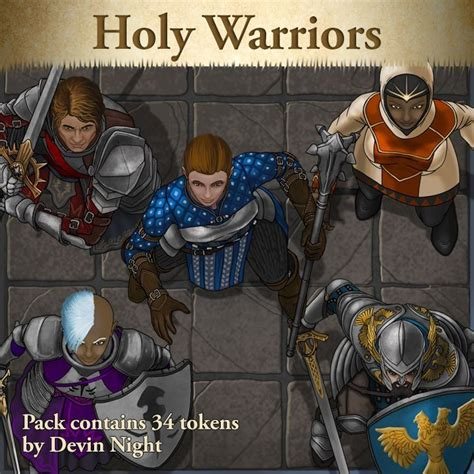 TP137: Holy Warriors – Devin's Token Site