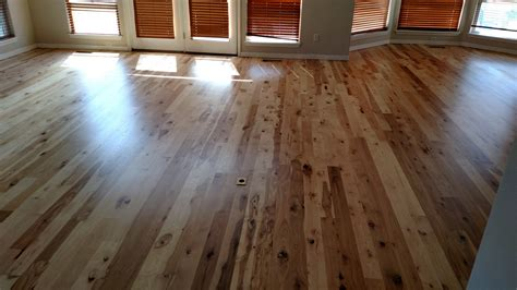 hardwood floors boise hickory refinish in boise idaho using uv finish from sunfinish a max hardwood flooring
