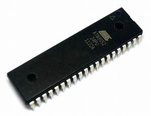 At89s52 Atmel U0026 39 S 8051 Microcontroller Ic Buy Online For