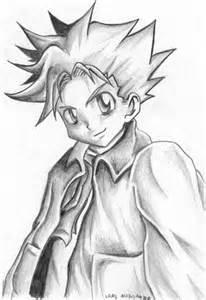Anime Boy Pencil Sketch Drawing