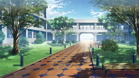 Anime Wallpaper School - anime school background 183 free cool backgrounds