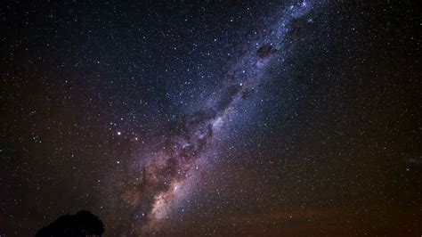4k Time Lapse Of The Milky Way With The Earths Rotation