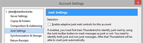 Office 365 Mail Thunderbird by How To Configure Thunderbird For Office 365 Using Imap
