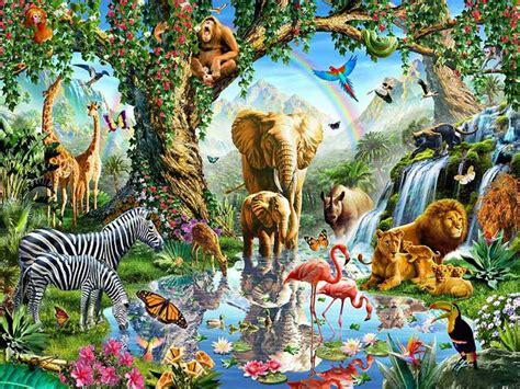 Puzzle Kayu Persegi Binatang Hutan get cheap binatang hutan mewarnai aliexpress