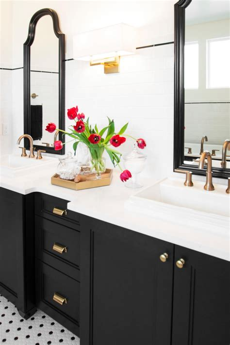 Black Bathroom Fixtures Decorating Ideas by Style Suitors Why Black White Tile Should Stay Married